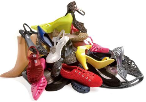 purse Shoes-pile